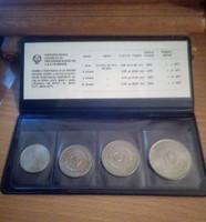 Jugoszláv 1,2,5,10 Dinár  sorozat
