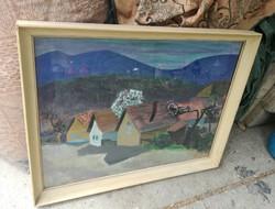 Béres Jenő csodálatos festménye.