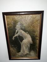 MÁRK LAJOS:(1867-1940):eredeti festménye