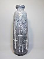 Jelzett nagy kerámia váza , Iparművészeti  Vállalat