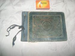 Atik, kézzel írt verses könyv, emlék könyv, album