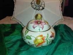 Bonbonier, nagyméretű porcelàn.