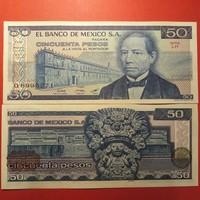 Mexikó 50 pesos 1981 'LH' UNC