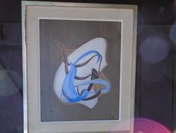 Kunt Ernő Munkácsy díjas festő  festménye 59 műve, képcsarnokos alkotás