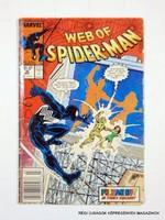 1988 ?  /  WEB OF SPIDER-MAN  /  Külföldi KÉPREGÉNY Szs.:  9730