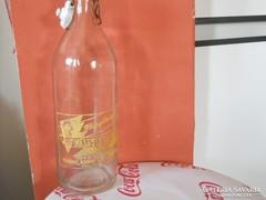 Csatos margitszigeti üveg