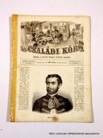 1863 június 7  /  Családi Kör   /  ANTIK, RÉGI EREDETI ÚJSÁG RITKASÁG! Szs.:  10694