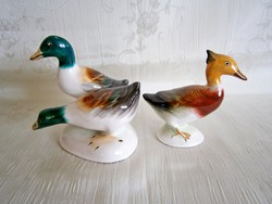 Bodrogkeresztúri hibátlan kerámia: kacsapár és egy totyogó kacsa 3-as