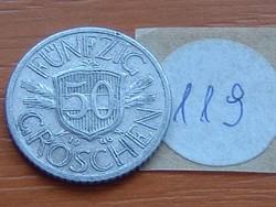 AUSZTRIA OSZTRÁK 50 GROSCHEN 1946 ALU  119.