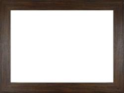 0W796 Széles modern sötétbarna képkeret 50 x 70 cm