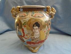Antik Japán Porcelán Váza vagy kaspó  Nagy méretű 100-130 körüli