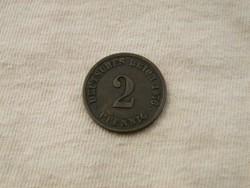 KK363 1876 2 pfennig Németország