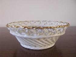 Gyűrűtartó porcelán tálka