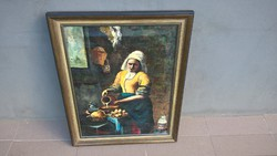 Jan Vermeer Tejöntő asszony újragondolása Cozzoli