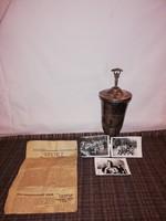 1,-Ft Kuriózum!Balatonboglár Motorverseny 1959. 1.helyezési díj kupa!