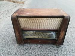 Terta T 325 régi rádió