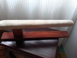 Antik női/férfi ingújj, fa vasaló deszka