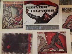 Híres festők plakátjainak printjei (5 db)