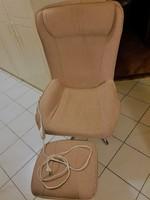 Termo relax forgó fotel lábtartóval