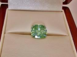 Szép valódi 3.6ct  VVS1 moissanite /moissanit  gyémánt cushion / párna csiszolás