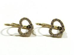 Női arany fülbevaló(Kecs-Au80752)
