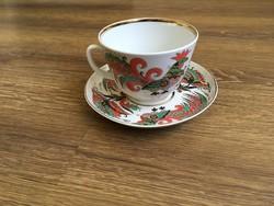 Gazdagon díszített Orosz teás csésze+alj