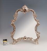 Ezüst keretes tükör