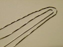 KK405 Gyönyörű 18K fehér arany nyaklánc