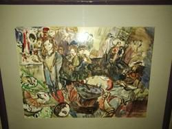 Festmény Breznay András alkotása