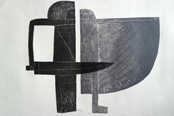 Székely Pierre (1923-2001) Saint Martin limited edition szignált litográfia