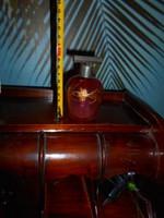Csiszolt, antik illatszeres üveg
