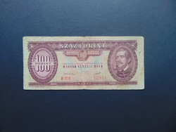 100 forint 1949 B 304 Rákosi címer !