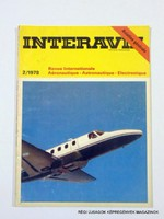 1978 február  /  INTERAVIA  /  FRANCIA REPÜLŐSMAGAZIN Szs.:  11001