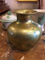 Váza, Zsolnay, zöld eozin