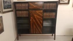 Francia Art Deco könyves szekrény polc