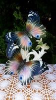 ENS porcelán,  gyönyörű pillangó par