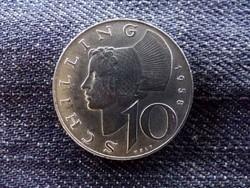 Ausztria - ezüst 10 Schilling 1958/id 9006/