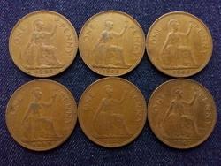 Anglia - Erzsébet királynő One Penny évszám gyűjtemény/id 7759/