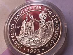 900 éves Nagyvárad 31,1 gramm 0,925 ezüst érme
