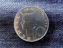 Ausztria - ezüst 10 Schilling 1973/id 9004/
