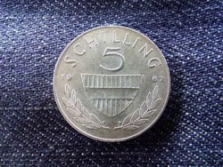 Ausztria - ezüst 5 Schilling 1967/id 8997/