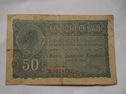 Román 50 bani 1917