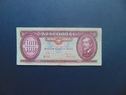 100 forint 1957 B 468 Ritka évszám !