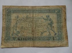 Francia 50 centimes 1917