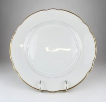 0X043 KPM süteményes porcelán kínáló tál 30.5 cm