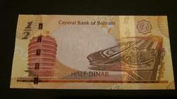 Bahrain 1/2 Dinar 2006/17 UNC
