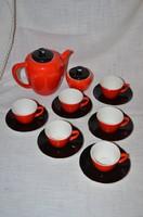 Régi gránit kávés készlet  ( DBZ 0088 )