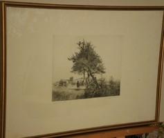 Dudás Jenő (1902-1991) - Összeboruló fák