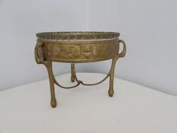 Szeci asztalkozep eredeti uveg betetjevel