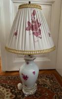 Herendi Apponyi mintás asztali lámpa